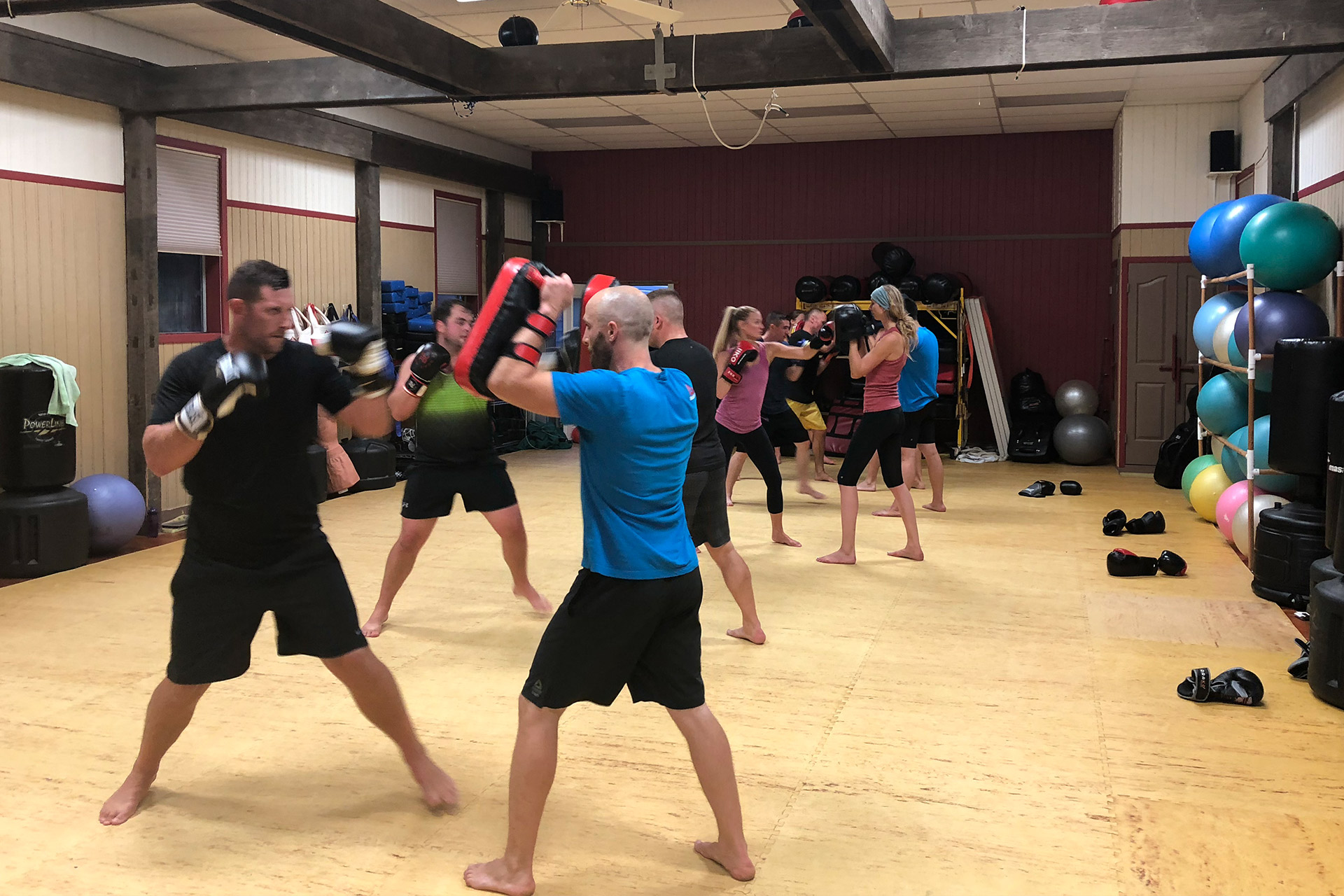 Cardio Kickboxing Hastings Martial Arts